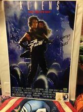 Sigourney Weaver Autographed 16×24 Alien Poster LTD EDITION 73/75
