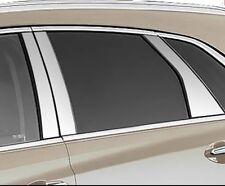 Cadillac XT5 2017 2018 2019 CHROME PILLAR POST FULL 6 PIECE KIT