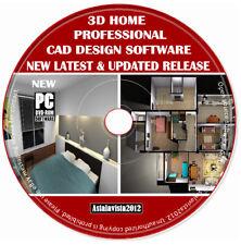 3d-Pro Home Office Studio Inneneinrichtung Software Planung Auto PC DVD NEU