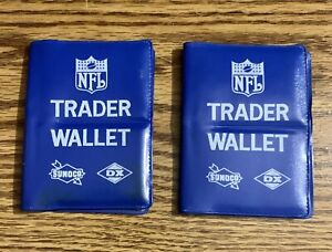 1972 Sunoco NFL Trader Wallets (2) - 150 stamps with stars and hof'ers!