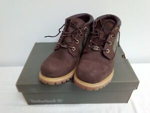 Women's TIMBERLAND Nellie Chukka Double Dark Ankle Boots Size:UK 8 (Boxed)