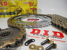 Triumph 675 Street Triple 2006-13 DID Gold 525 X-Ring chain and sprockets kit