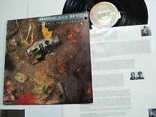ROCK AND HYDE - Under the Volcano 1987 Alt Synth Pop w/ INNER SLEEVE
