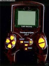 55da5388aa8 CAR RACING INTERCHANGE LCD GAME 3 in 1 TRAVEL HANDHELD