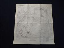 Landkarte Meßtischblatt 3854 Fürstenberg a.d. Oder, Vogelsang, Ziebingen, 1934