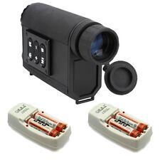 Digital 6X32 Night Vision Infrared IR Monocular Scope Ranger Finder+Charging F1