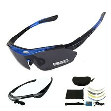 Men's 2 Frame Polarized Cycling Sun Glasses Outdoor Sports Glasses Goggles
