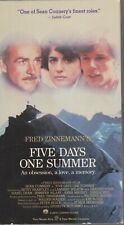 Five Days One Summer (VHS) Sean Connery