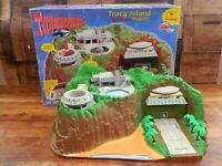 Thunderbirds Tracy Island Playset - Vivid Sound Tech Vintage Boxed (B)