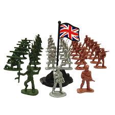 100x Mini Plastic Soldier Model Soldiers Military Toy Set Children Kids Toy Kit.