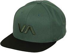 RVCA Sport VA Snapback II Hat (Olive Black) 43688c23f627