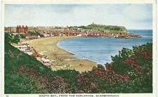 South Bay Scarborough Colour Postcard