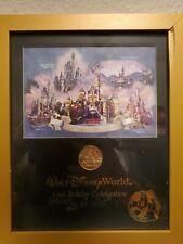 Walt Disney World Cast Holiday celebration coin framed