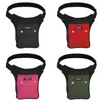 Hüfttasche Gürteltasche Sidebag Bauchtasche 3 Fächer Tasche Seitentasche Stoff
