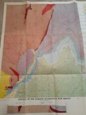 New ListingUsgs Geologic Map of Glorieta Quadrangle/Santa Fe Cty/New Mexico Bur. of Mines