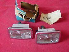 NOS 1966 Chrysler Imperial 65 Dodge Polara Monaco Back Up Lamps 2483303 & 302