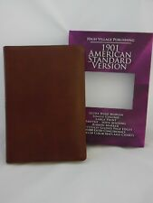1901 American Standard Version Bible - Wide Margin - Brown