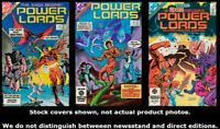 Power Lords 1 2 3 Complete Set Run Lot 1-3 VF/NM