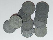 Germany, Third Reich 10 x 10 Reichspfennig, 1941 G, D, A, B.