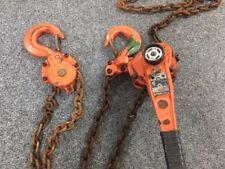 Lever Hoist Chain Winch 6 ton x 5 mtr