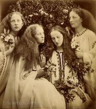 Julia Margaret Cameron Photo, The Rosebud Garden of Girls