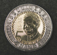 South Africa 5 Rand Coin, 2018, 100th Birthday of Nelson Mandela