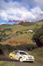 Jorge Recalde Mitsubishi Lancer Evo II Nueva Zelanda Rally 1994 fotografía 1
