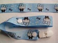 A BEAUTIFUL HELLO KITTY DUMMY CLIP /PACIFIER/TOY CLIP (NEW)