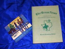 Vtg Hc 1955 1St Ed W Dj, Steck Publishing The Texas News Christmas Edition