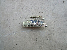 antique 1890 Railroad Union employee steam engine lapel service award pin
