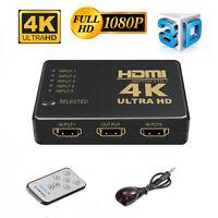 5 in 1 1080P HDMI Switch 4K 3D Splitter Verteiler Adapter DVD HDTV Xbox PS3 PS4