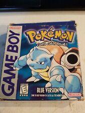 Pokemon Blue Version CIB Complete (Game Boy, 1998)