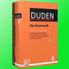 DUDEN (4) Die Grammatik | 9. Auflage 2016 | Aufbau der Deutschen Sprache (Buch)