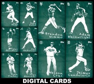 Topps BUNT CHALK 2020 [10 CARD FULL SET] Moncada/Votto/Cruz+++
