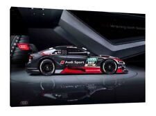 2018 Audi RS5 Coupe DTM - 30x20 Inch Canvas - Framed Picture Print Art