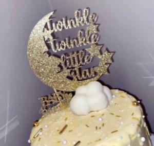 Twinkle Twinkle Little Star - Cake Topper / Baby Shower