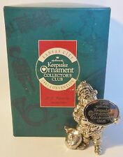 HALLMARK CHRISTMAS KEEPSAKE ORNAMENT KC SANTA Kansas City 1991 CONVENTION RARE!!