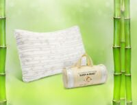 Memory Foam Bamboo Pillow by Clara Clark - Available in King or Queen