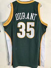 Adidas Swingman NBA Jersey Seattle Supersonics Kevin Durant Green HWC sz L