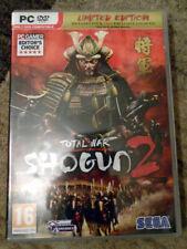 Total War: Shogun 2 - Limited Edition - PC - 2-Disc DVD-ROM - VGC