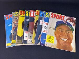 Sport Magazine 10 Vintage Issues 1947-55 Larry Doby Duke Snider Casey Stengel +