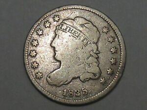 1835 US Classic Head Half Cent Coin.  #41
