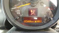 MINI COOPER INSTRUMENT CLUSTER TACHOMETER ONLY, R60, COUNTRYMAN,72484 Kms