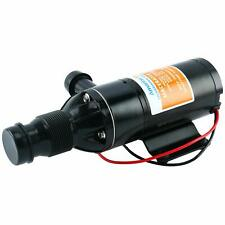 12V Self Priming Macerator Waste Water Pump for RV Marine Trailer Toilet Sewer
