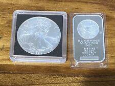 Qty.1 oz. 2009 American Eagle Silver Bullion Coin w/ BONUS 2nd Ounce of Silver!!