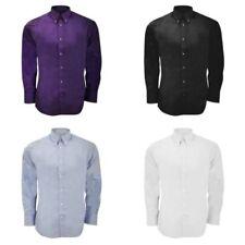 Kustom Kit Cotton Blend Regular Size Formal Shirts for Men
