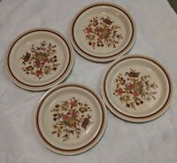 Royal Doulton China Gaiety Pattern 2 salad plates 4 bread & butter plates, USED