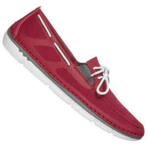 Clarks Step Maro Wave Canvas Men's Leisure Fashion Low Shoes 261408427 Red New