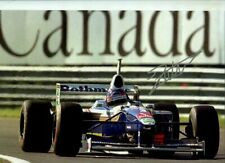 Jacques Villeneuve Williams FW19 Canadian Grand Prix 1997 Signed Photograph