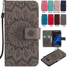 New Colorful Leather Wallet Flip Mobile Phone Case Cover For Samsung Galaxy Mode